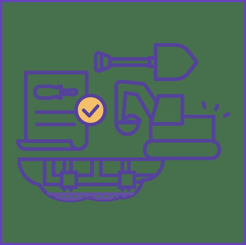 Icon aansl uitvoering